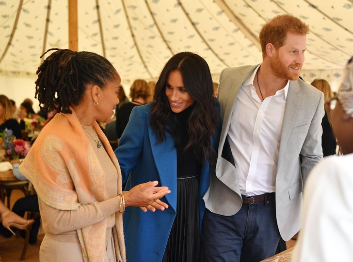 Фото №3 - Что означает появление Дории Рэгланд на королевском мероприятии вместе с Меган