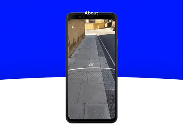 Фото №1 - Google выпустил приложение дополненной реальности для измерения безопасной дистанции между людьми. Его уже можно скачать