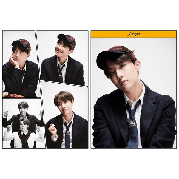 Фото №3 - RM из Слизерина, Джин из Гриффиндора: новые фотографии BTS для «Map Of The Soul: 7»
