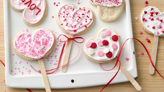 Фото №1 - Рецепт: Как сделать съедобные валентинки