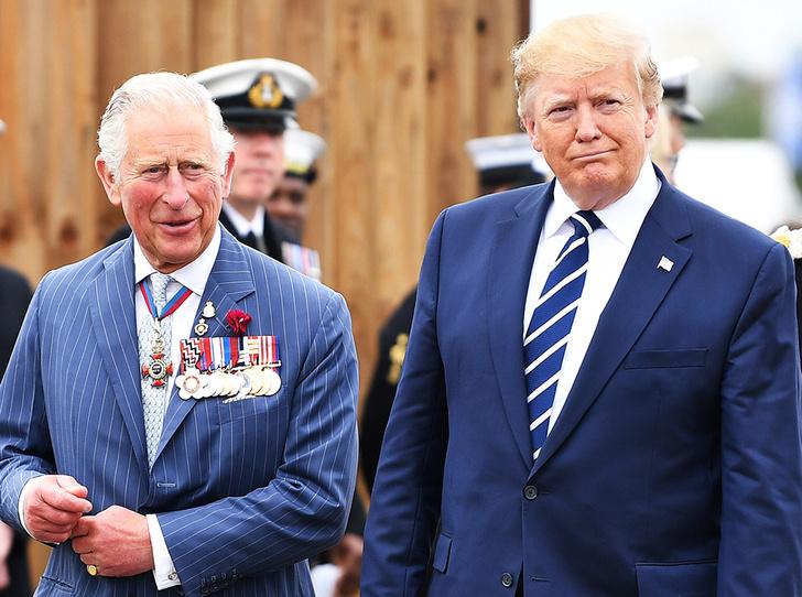 Фото №1 - Дональд Трамп назвал Чарльза «принцем китов»