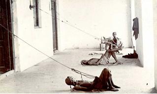 История одной фотографии: панкахваллы за работой, 1900-е годы
