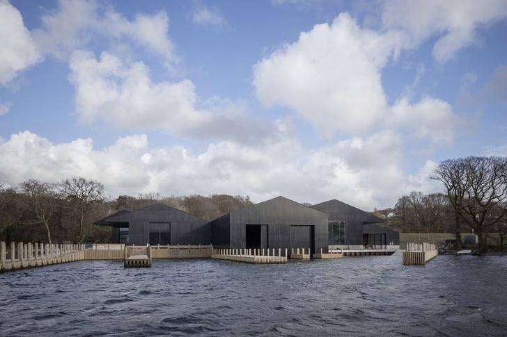 Фото №1 - Новый музей лодок в Англии по проекту Carmody Groarke