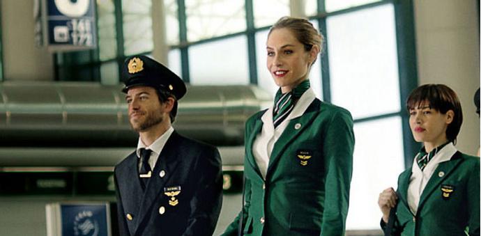 форма стюардессы фото Alitalia