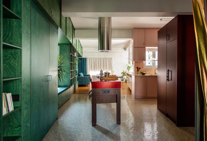 Фото №2 - Буйство красок: квартира в Афинах