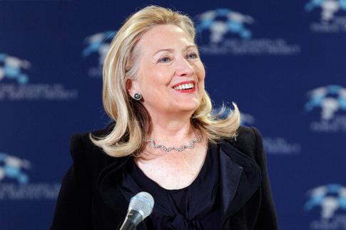 Хиллари Клинтон прическа