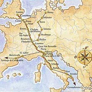 Фото №1 - Из Кентербери в Рим снова пойдут паломники