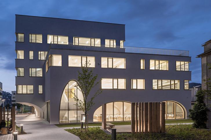 Фото №9 - Новое здание медицинского института в Зальцбурге