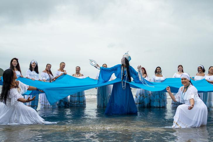 Фото №1 - День покровительницы мореплавателей в Бразилии