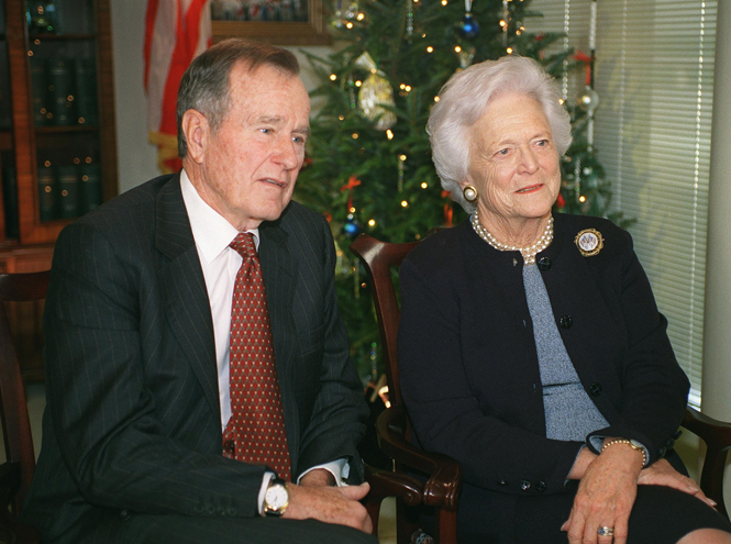 Фото №3 - Какой совет Мелании Трамп дала бывшая первая леди Барбара Буш