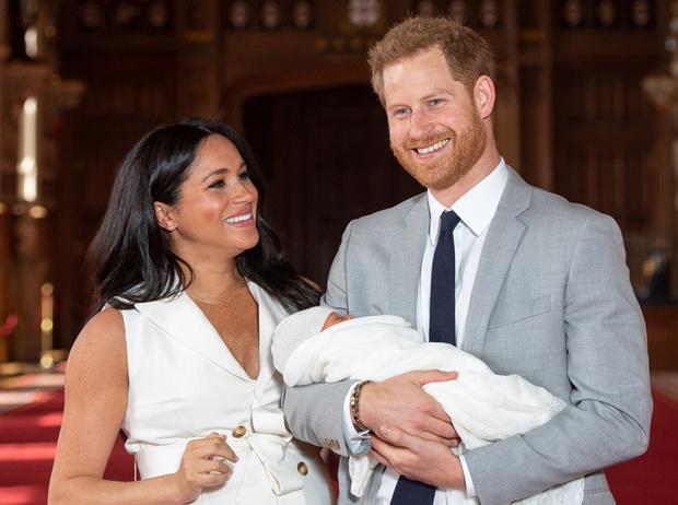 Фото №1 - Меган и Гарри объявили имя малыша