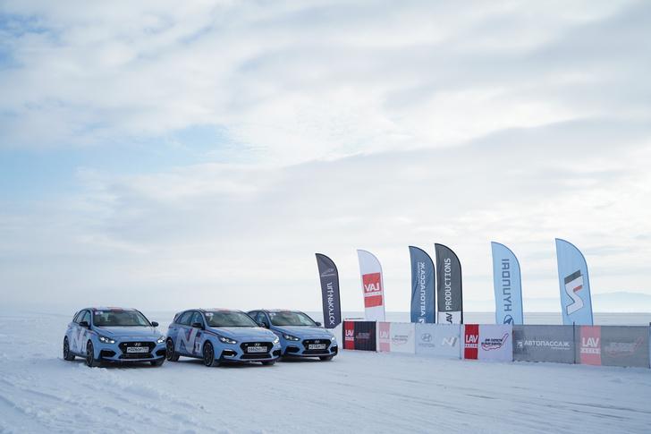 Фото №4 - Hyundai i30 N: отжигает на льду Байкала
