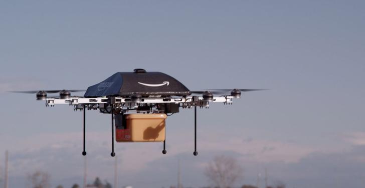 Фото №2 - Amazon разработал роботов-курьеров