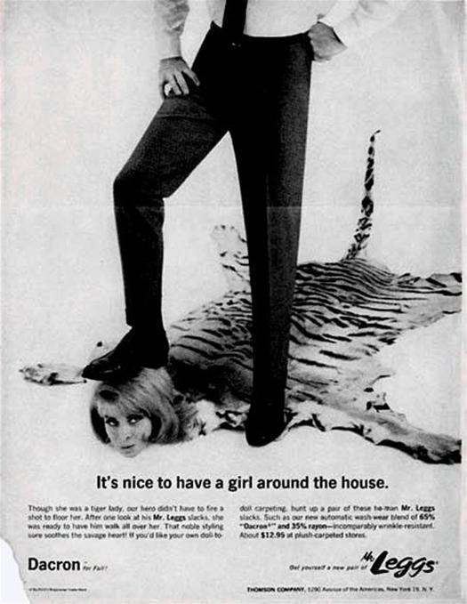 Фото №1 - 16 сексистских реклам прошлого