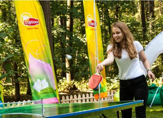 Фото №1 - В парке «Фили» открылся оазис свежести Lipton Fresh Park