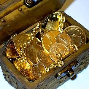 Фото №1 - На Эльбе найден клад испанских монет