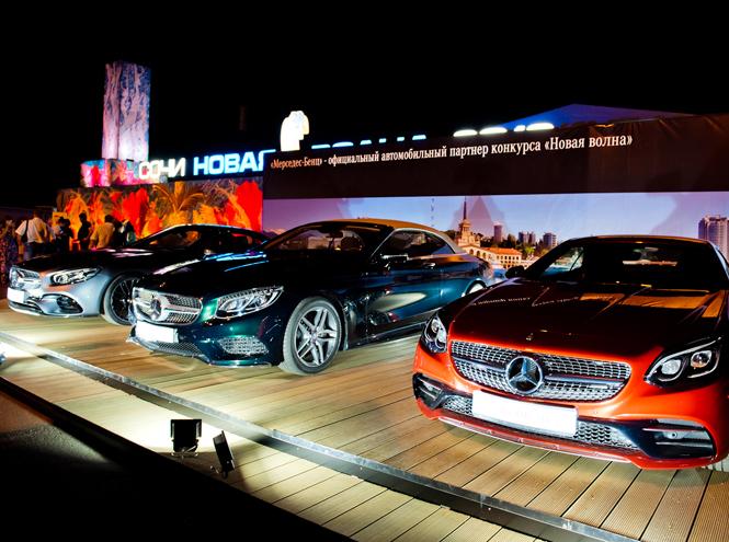 Фото №1 - Mercedes-Benz на «Новой волне»