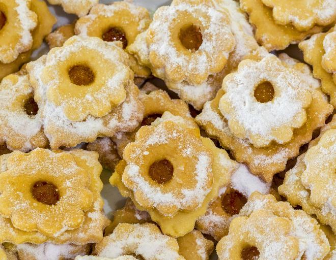Рецепт печенья с апельсином