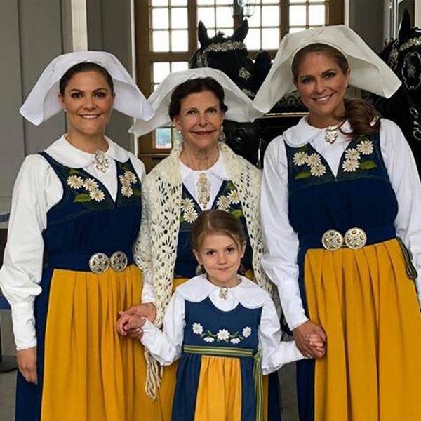 Фото №7 - Принцесса Эстель снова затмила шведского короля