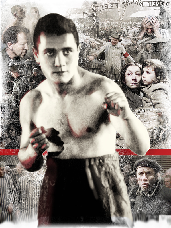 Фото №1 - Гладиатор из Освенцима: история участника боксерских боев в концлагере