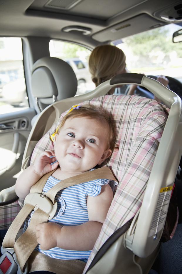 Ребенка укачивает в машине что делать