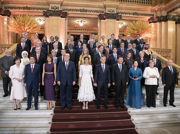 Фото №12 - G20 в Аргентине: самые яркие модные выходы Первых леди