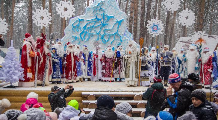 Фото №4 - В Кузбассе выбирают лучшего Деда Мороза