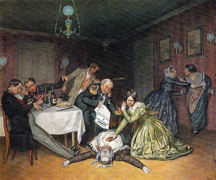 Фото №1 - Письма из холерной Москвы 1830-го: эпидемия глазами очевидца