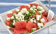 Разнообразные рецепты салатов с брынзой