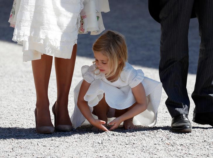 Фото №8 - Как проходило крещение шведской принцессы Адриенны