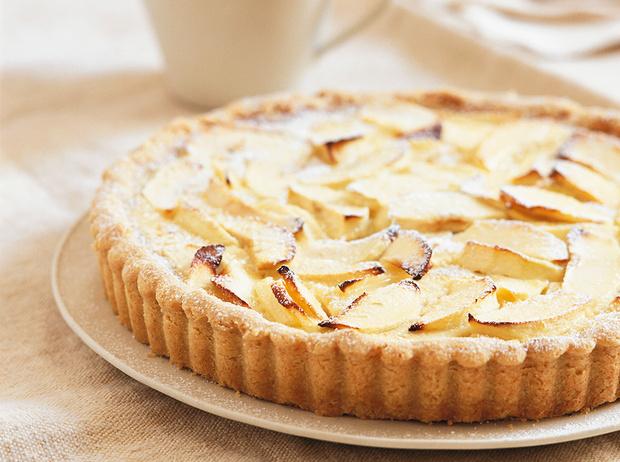 Фото №1 - Рецепт недели: яблочный тарт с грецкими орехами