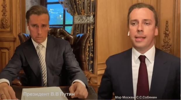 Фото №1 - Тот самый ролик Максима Галкина с пародией на Путина, упоминания о котором изымают с новостных сайтов