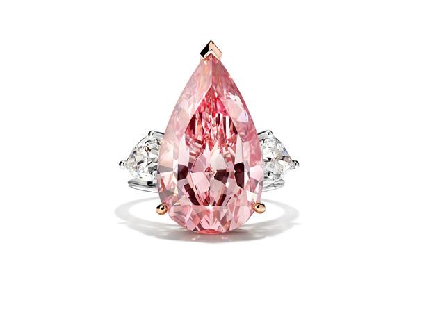 Фото №1 - Фантазийные камни: Parure Atelier представил кольцо с розовым бриллиантом