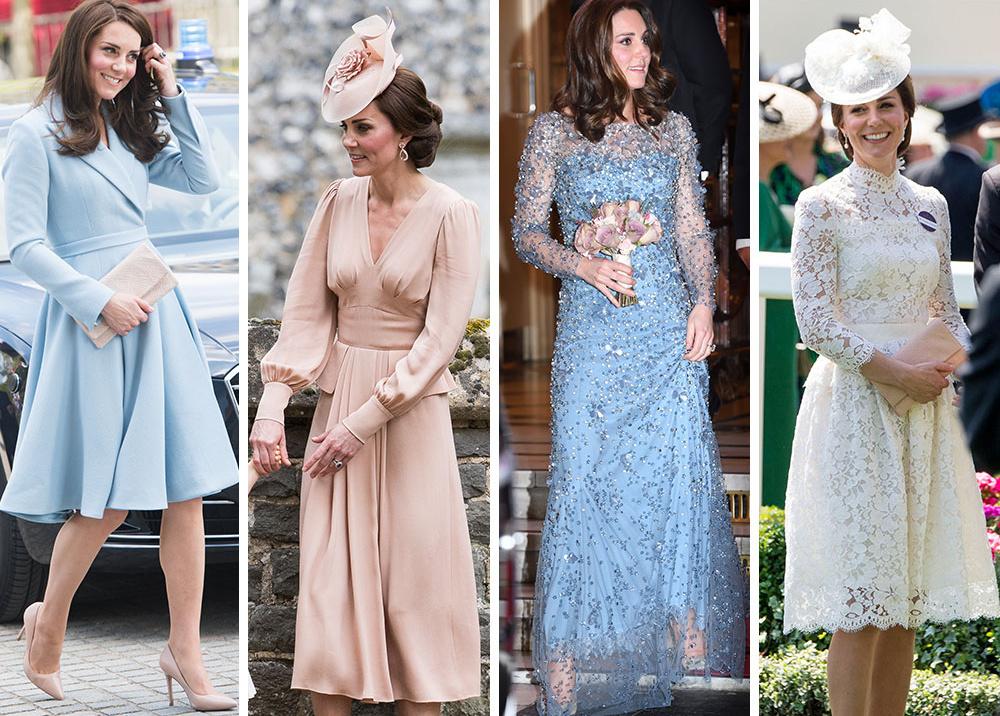 Гардероб на миллион: самые дорогие наряды герцогини Кейт