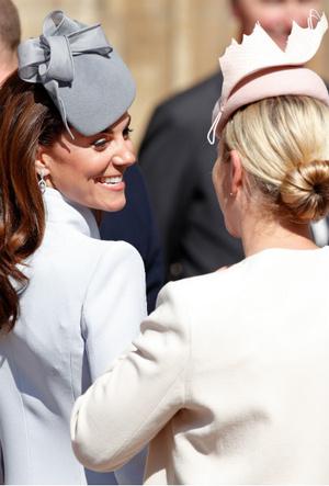 Фото №2 - Королевский отряд: герцогиня Кейт и ее три самых близких подруги в БКС