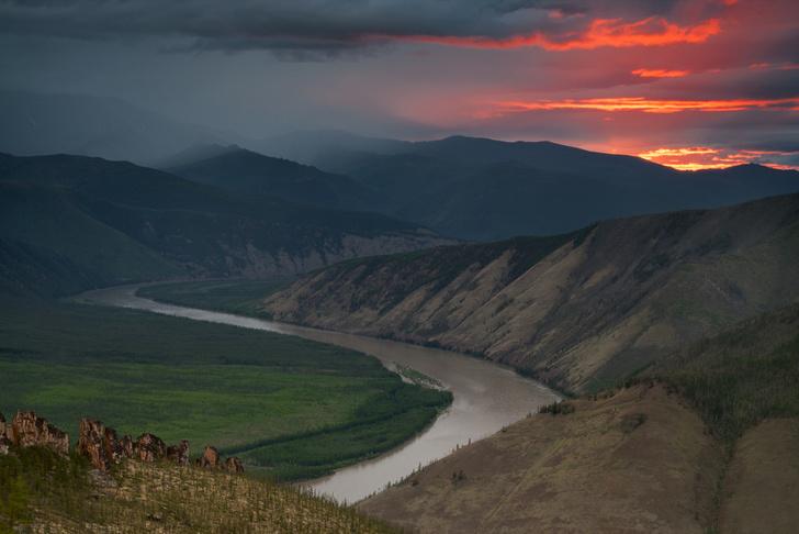 Фото №1 - Найден речной путь между Северным Ледовитым и Тихим океанами