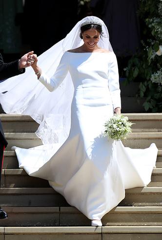 Фото №9 - От Одри Хепберн до Меган Маркл: знаменитые невесты в платьях Givenchy
