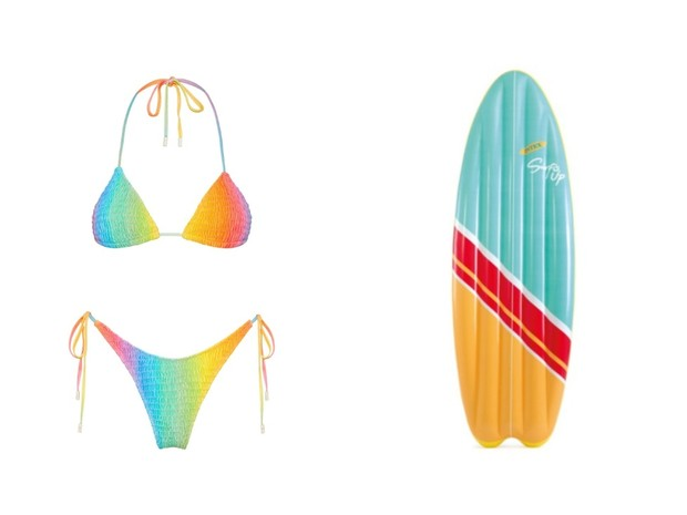 Фото №2 - На пляж: купальник + надувной аксессуар