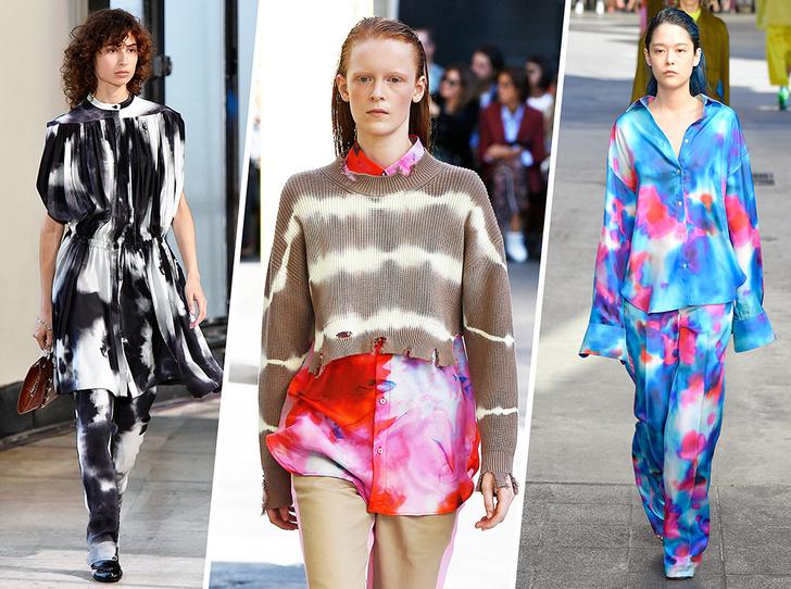 Фото №1 - Ташизм в моде, или Всё об абстрактных принтах весны-лета 2018