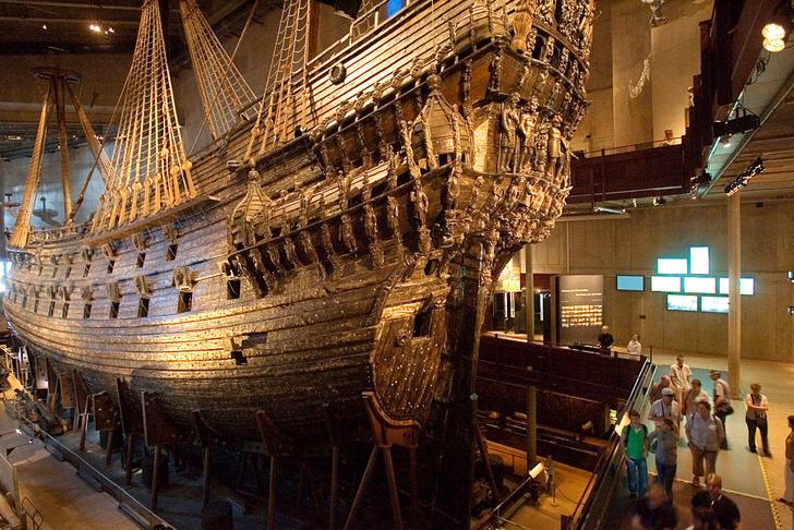Фото №6 - Плавучие крепости: самые большие военные корабли прошлого и настоящего