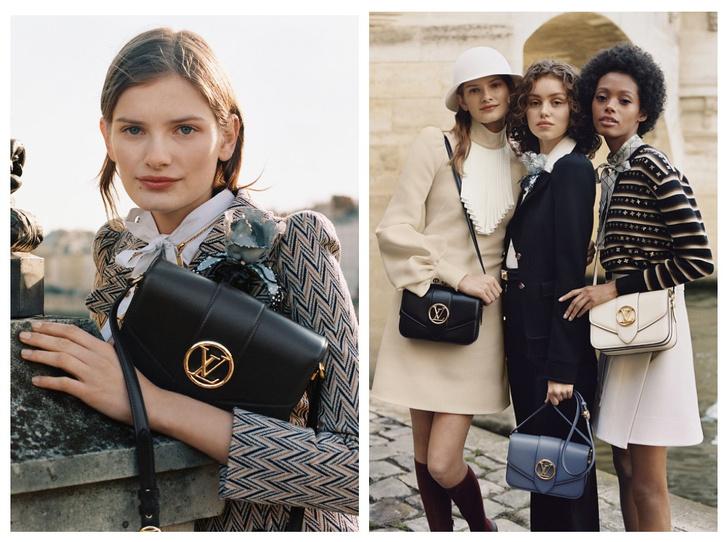 Фото №1 - Аксессуар парижанки: Louis Vuitton представили новую сумку LV Pont 9