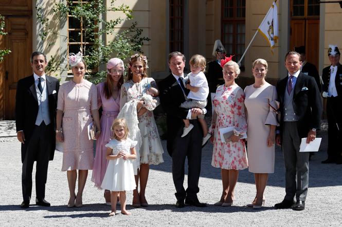 Фото №6 - Как проходило крещение шведской принцессы Адриенны