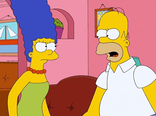 Фото №1 - Симпсоны разведутся в новом сезоне мультсериала