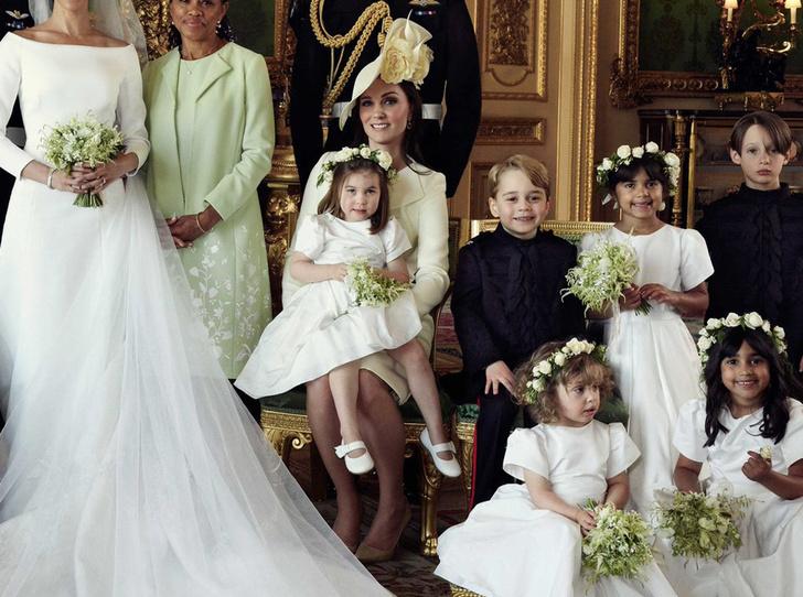 Фото №5 - Почему место отца Меган на свадебном снимке занял принц Уильям