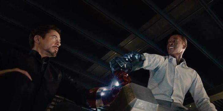 Фото №10 - Топ-10 лучших бромансов в фильмах Marvel 🤝🖤