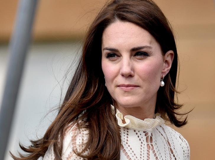 Фото №1 - Герцогиня Кембриджская нервничает