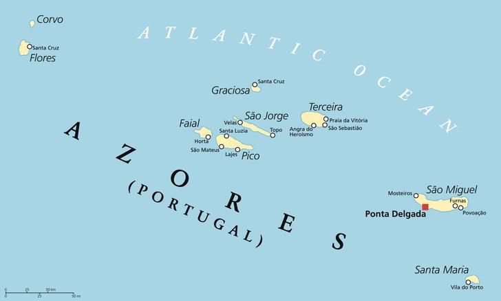 Фото №2 - Затерянные в океане: 7 фактов об Азорских островах