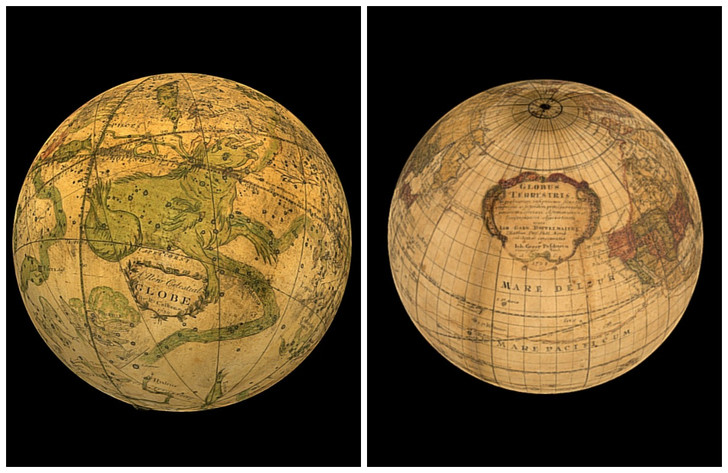 Фото №1 - Как 300 лет назад представляли себе Землю: старинные 3D-глобусы, которые можно покрутить прямо сейчас