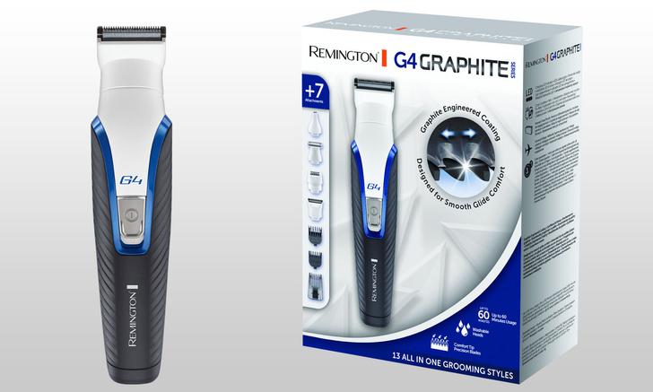 Фото №1 - Как набор для стрижки волос GRAPHITE G4 поможет тебе быть ухоженным с головы до пят