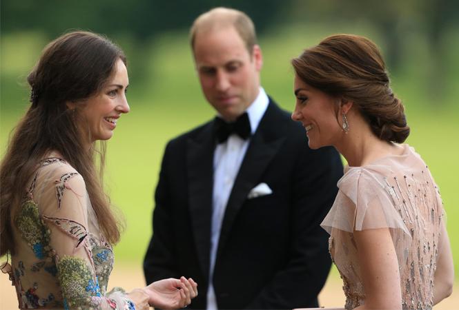 Фото №2 - Кто такая маркиза Чамли (и действительно ли герцогиня Кейт считает ее своей соперницей)
